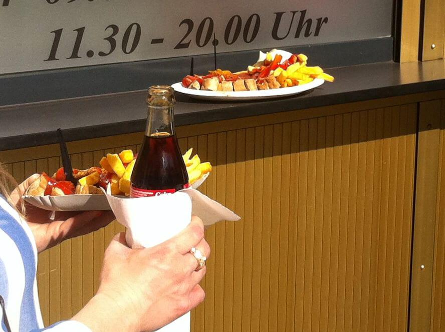 Beste Currywurst Berlins-Konnopke