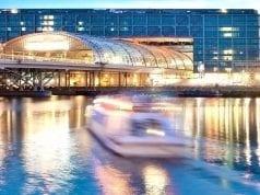 Abendliche Brückenfahrt Berlin -Titelbild