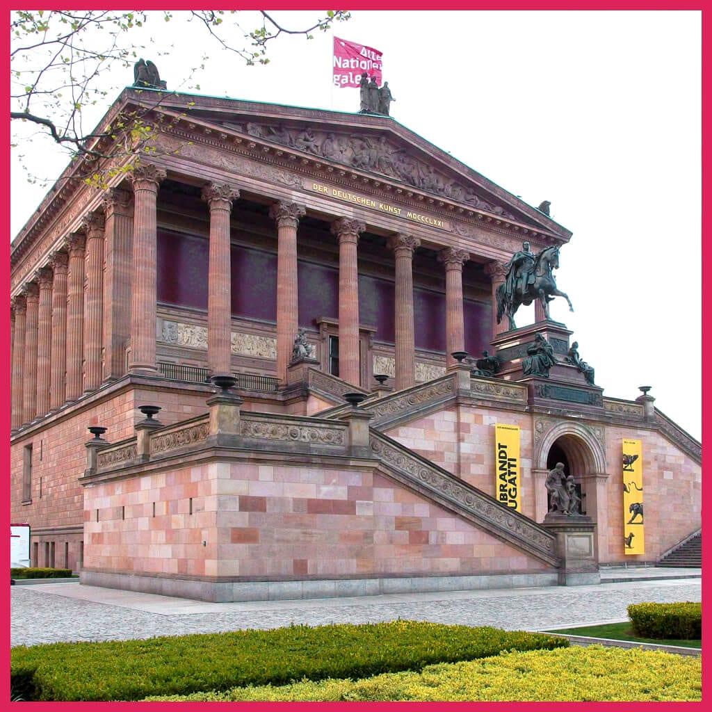 Spreerundfahrt Berlin-Alte Nationalgalerie