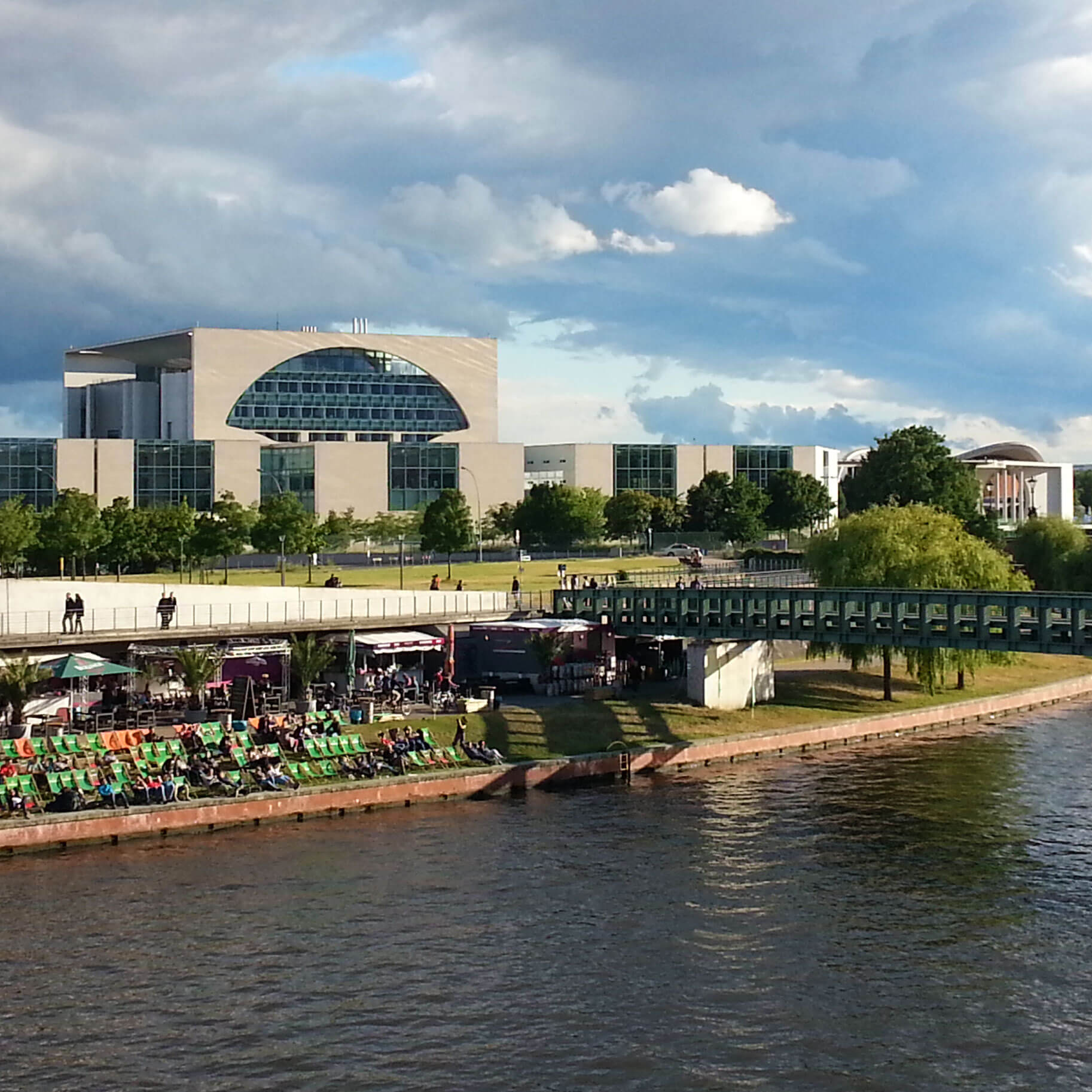 Brückenfahrt Berlin - Regierungsviertel
