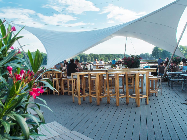 Hafenküche Rummelsburger Bucht Terrasse