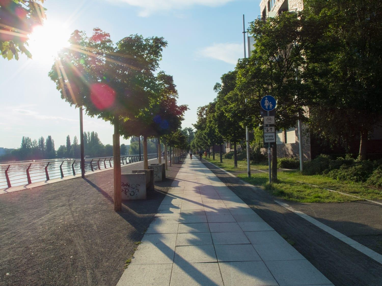Rummelsburger Bucht - Uferpromenade und Spree - Schöne Orte Berlin
