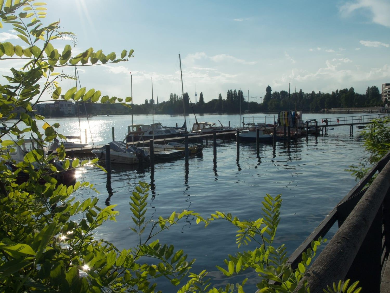 Rummelsburger Bucht - Schöne Orte Berlin - Boote