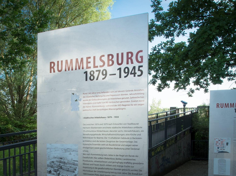 Rummelsburger Bucht - Schöne Orte Berlin - Gedenktafel
