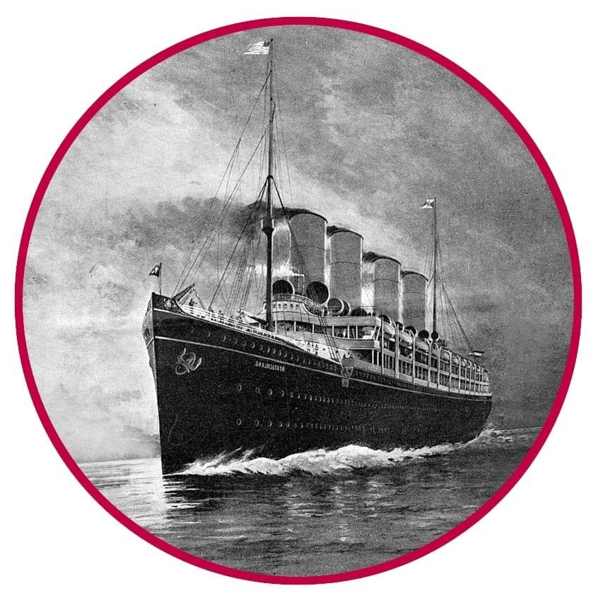 Krimidinner auf der Spree - altes Kreuzfahrtschiff