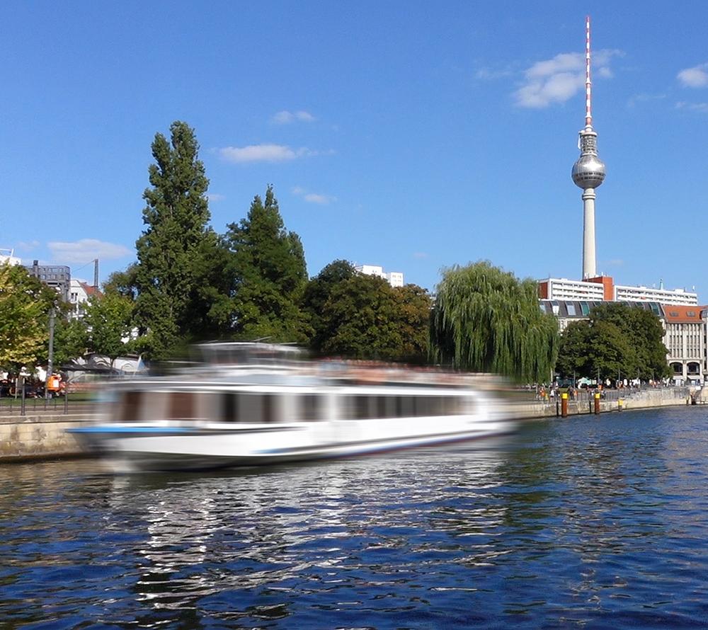 Spreefahrten Berlin Friedrichstraße - Fernsehturm