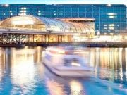Berlin Boat Tour Night - Berlin Central Station - Hauptbahnhof Berlin