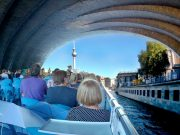 Berlin Spree River Cruise - TV Tower