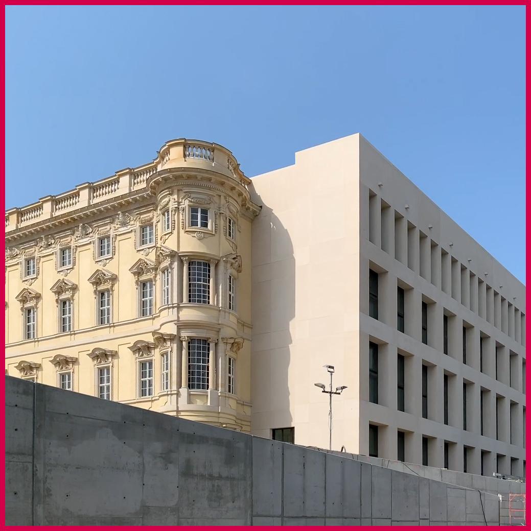 Spreefahrt Berlin - Berliner Stadtschloss und Humboldt Forum